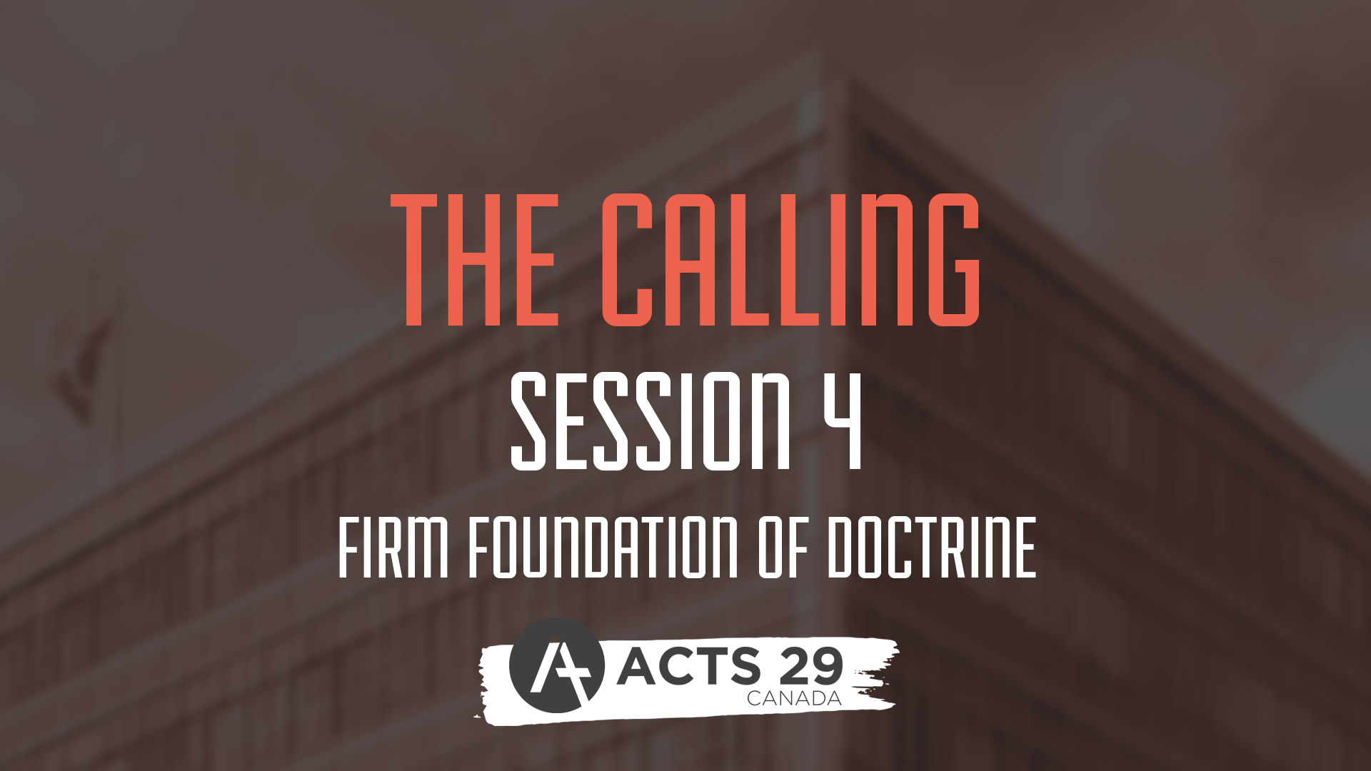 The Calling - Session 4